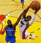 James Harden, Dwyane Wade